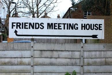 Friends meeting